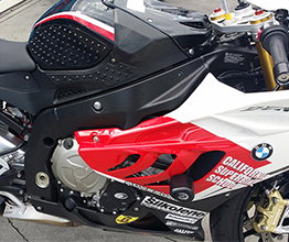 California Superbike School with Stompgrip Super Volcano Kits