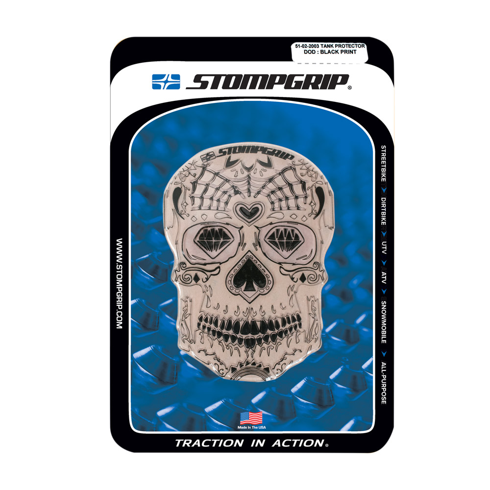 TANK PROTECTOR - DAY OF THE DEAD SKULL