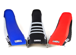 3 Custom Dirtbike Traction Seat Covers